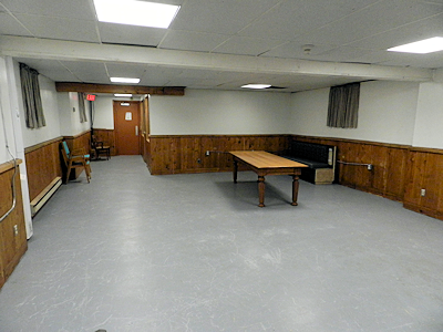 Basement multipurpose room