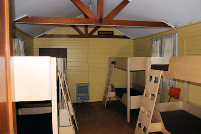 Inside Acton Hut